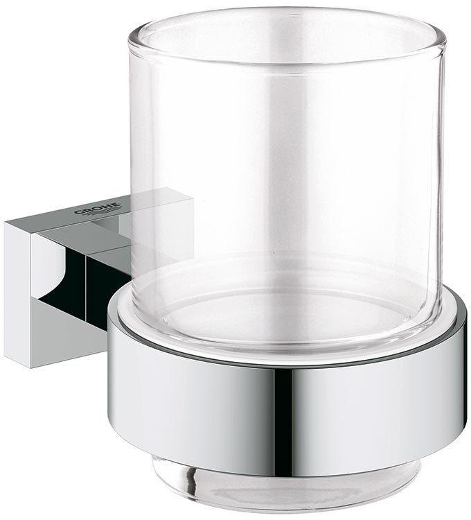 Grohe Essentials Cube 40755 001  Стакан с держателем